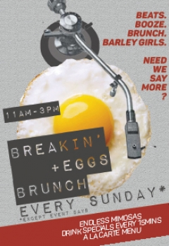 Breakin + Eggs Brunch